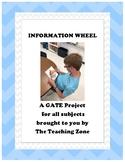 Information Wheel Project - GATE - ESOL - 3-12