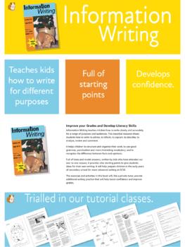 Information Writing (9-14 years)