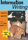 Information Writing (9-14 years)