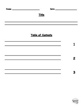 Information Writing Book- 3 Chapters