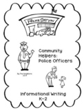 Community Helpers:Police Officer (Common Core Informationa