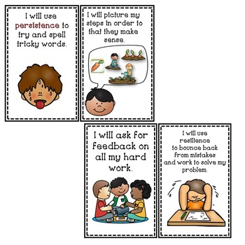Goal Setting Labels & Posters for Information Writing Kindergarten Writers!