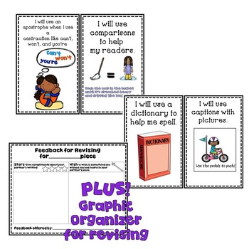 Goal Setting Mini Posters for Gr. 2 Writers! for Information Writing