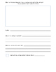 Information Writing Complete Graphic Organizer