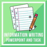 Information Writing PPT