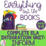 Information Writing, Reading, and Mentor Sentence Integration Unit [GRADES 4-5]