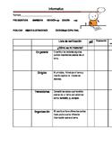 Information Writing Rubric/ Rubrica Informativa