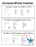 Information Writing Transition Words