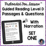 Guided Reading Meets the Common Core: Parent Handout for Guided Reading Level D