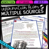 Information from Multiple Sources- 5th Grade RI.5.7