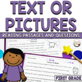 Information from Text or Pictures