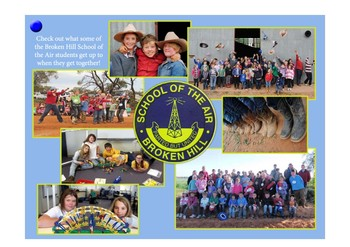 Information story - Remote school students in the Australian outback