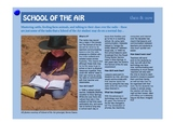 Information story - Remote school students in the Australi