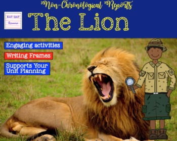 Informational Writing - The Lion