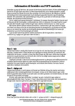 Information til forældre om POPT-metoden