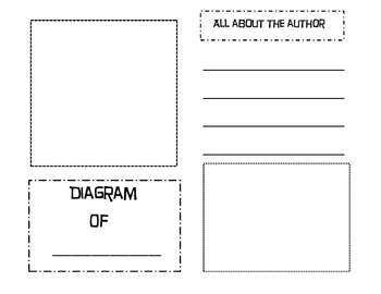 Informational (All About) Writing Booklet