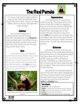 Informational Animal Articles: Digital Version