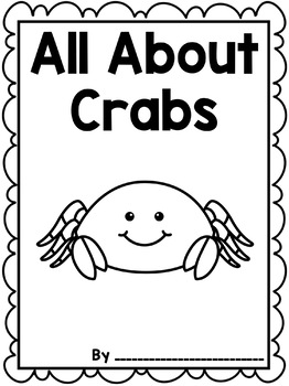 Informational Writing: Animals { Crabs }