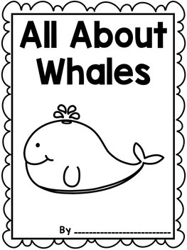 Informational Writing:Animals { Whales }