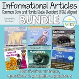 FSA Reading Test Prep- Non Fiction Reading & Language/Editing Bundle