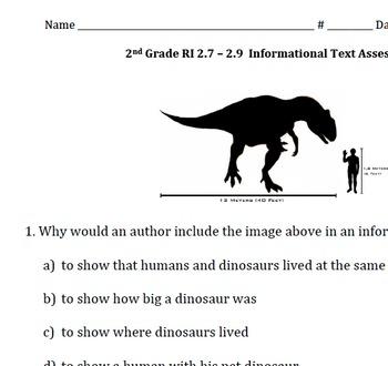 Informational Assessment (RI 2.7, 2.8, 2.9)