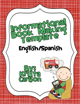 Informational Book Making Template (Bilingual)