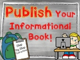 Informational Book Template: A Digital Writing Resource