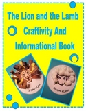Informational Book and Craftivity  Lion and Lamb