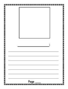 Informational Book layout