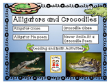 Close Informational Reading - Alligators and Crocodiles with Activities