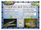 Close Informational Reading - Alligators and Crocodiles wi