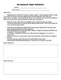 Informational Essay Paper Reflection and Parent Communication