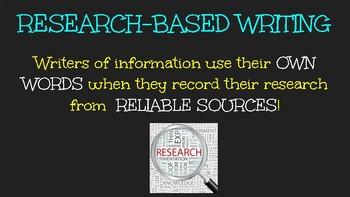 Informational Essay Slideshow