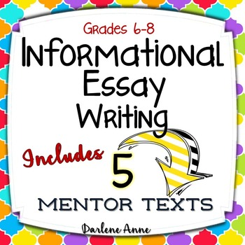 INFORMATIONAL WRITING WORKSHOP UNIT FOR MIDDLE SCHOOL ENGLISH