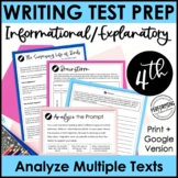 Informational Explanatory Test Prep | Text-Based Writing |