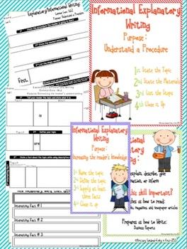 Informational Explanatory Writing