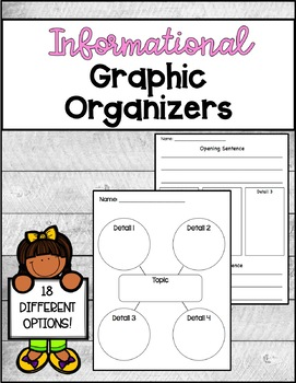 Informational Graphic Organizers