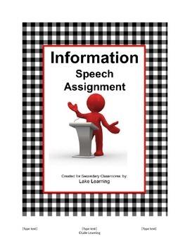 Informational Speech Assignment