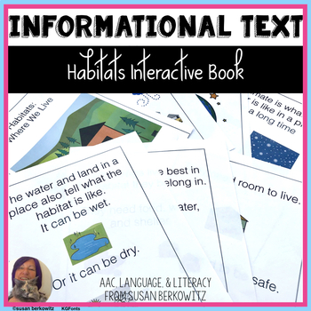 Informational Interactive Text Habitats for Special Education