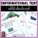 Habitats Informational Interactive Text for Speech Language Special Education