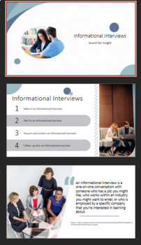 Informational Interview PowerPoint Presentation, Interview Questions, and more