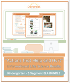 Emergency Sub Plans: Kindergarten: ELA: Actions that Help