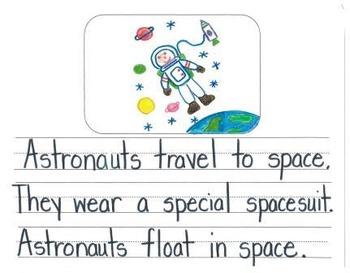 Visual Writing Rubrics in Kindergarten: Informational Writing Set 2