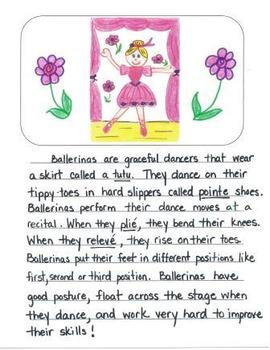 Visual Writing Rubrics for 2nd Grade: Informational Writing Set 2