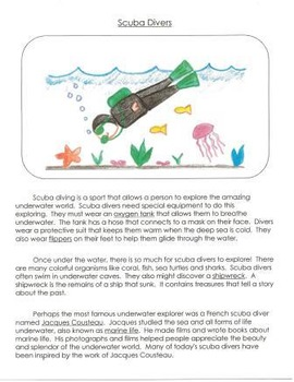 Visual Writing Rubrics for 3rd Grade: Informational Writing Set 2