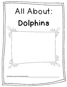 Informational Mini Book-Dolphins