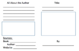 Informational Mini Book Template
