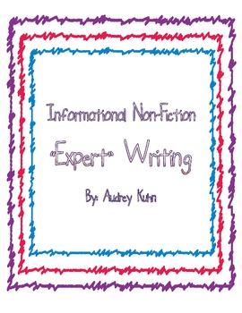 "Informational Non-Fiction ""Expert"" Writing"