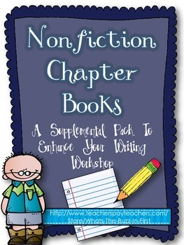 Informational Nonfiction Chapter Books Writing Supports