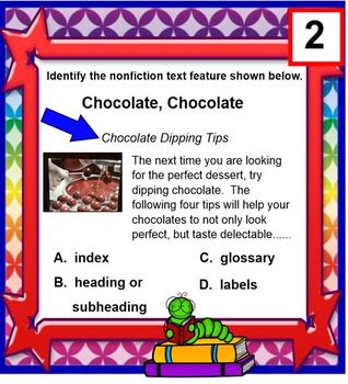 Informational /Nonfiction Text TASK CARDS